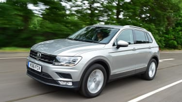 Audi Q3 vs Volkswagen Tiguan vs SEAT Ateca vs Skoda Karoq ...