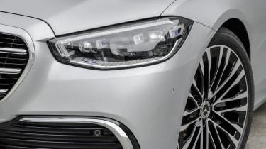 2020 Mercedes S-Class - front close-up