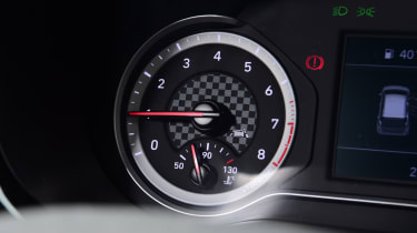 Hyundai i10 N Line gauges