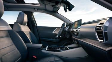 2021 Citroen C5 X crossover - interior