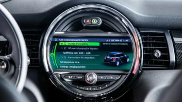 MINI Electric - infotainment screen