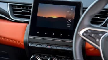 Renault Captur SUV infotainment display