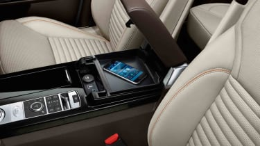 ...And it can also be had with wireless mobile phone charging technology in the armrest