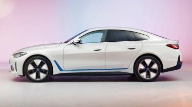 2021 BMW i4 - side view