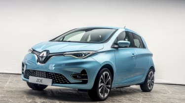 New Renault ZOE - front 3/4 angled