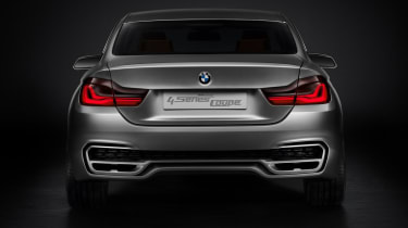 BMW 4 Series Coupe 2013 rear static