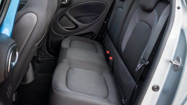 Smart EQ ForFour hatchback rear seats