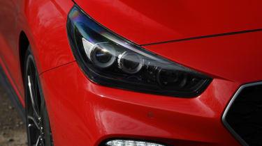 Hyundai i30 N headlights