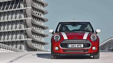 MINI hatchback 2014 front static