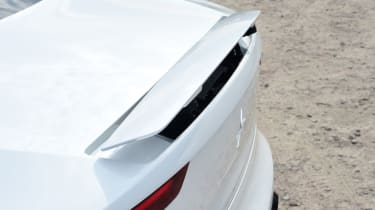Polestar 1 coupe rear spoiler
