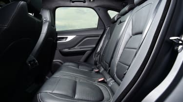 Jaguar F-Pace SUV rear seats