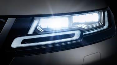 New Range Rover Evoque 2019 reveal lights