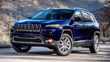 Jeep Cherokee 2014 front quarter