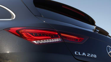 Mercedes CLA Shooting Brake tailgate