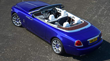 This makes it one of the few true four-seat convertibles on sale, along with the Mercedes S-Class Cabriolet