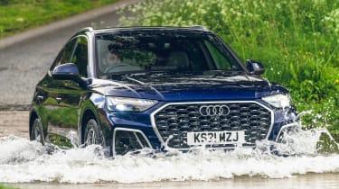 Audi Q5 Sportback SUV - offroading