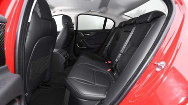 Jaguar XE saloon rear seat