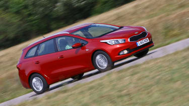 Private buyers are likely to be tempted by the Kia's long seven-year warranty