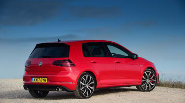 This ties in with the GTI philosophy, because this go-faster Golf is just as practical and easy to drive as an SE trim