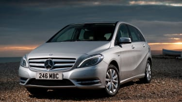 The B-Class is a rival to the BMW 2 Series Active Tourer, Ford C-MAX and Citroen C4 Picasso