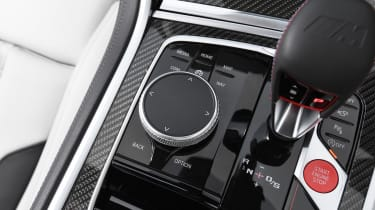 BMW M8 Convertible centre console