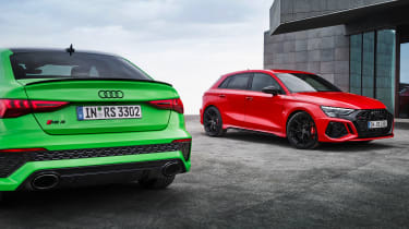 2021 Audi RS 3 Saloon and RS 3 Sportback