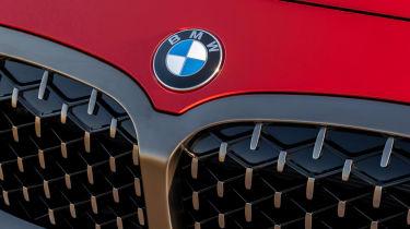 BMW M135i xDrive - grille detail