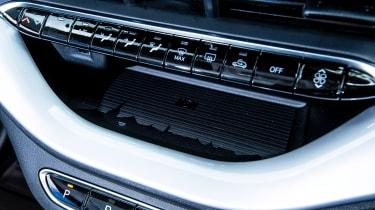 Fiat 500 electric centre console