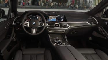 2019 BMW X6 - dashboard