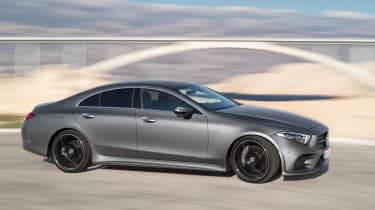 There isn't a slow CLS, but engines range from the diesel 350d to the petrol 450 that can get from 0-62mph in 4.8 seconds
