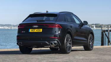 Audi SQ8 - rear 3/4 view static