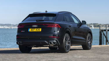Audi SQ8 - rear 3/4 view static