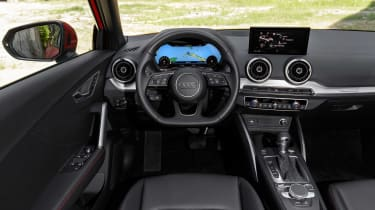 The Audi I-Cockpit system is included in the tempting optional 'technology pack'