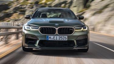 2021 BMW M5 CS - front view dynamic