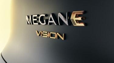 Renault Megane eVision concept badge
