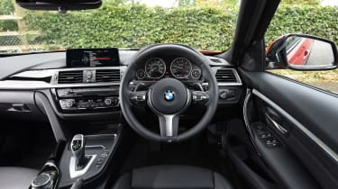 The 3 Series' dash is well laid-out and easy to use