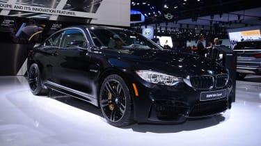 BMW M4 coupe 2014 front quarter