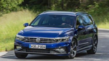 Volkswagen Passat Estate R-Line front cornering