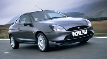 1997 Ford Puma - front 3/4 tracking