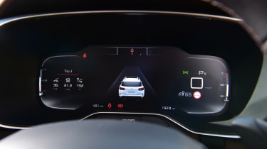 Citroen C5 Aircross SUV digital instruments