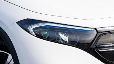 Mercedes EQA SUV review headlights