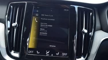 Volvo V60 estate Sensus display