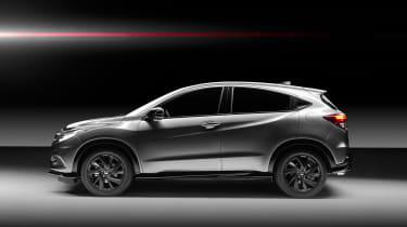 Honda HR-V Sport side