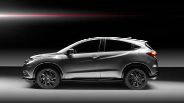 Honda HR-V Sport side