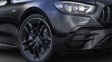 Facelifted Mercedes-AMG E53 front end detail