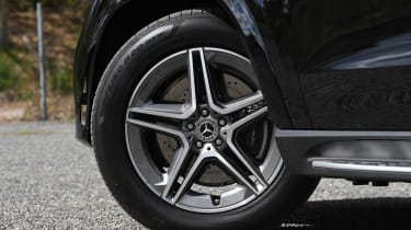 Mercedes GLE SUV alloy wheels
