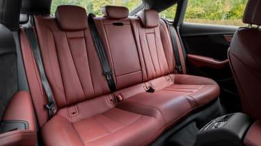 Rear seat space is reasonable