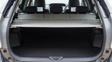 Toyota Prius+ MPV boot parcel shelf