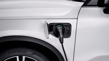 Volvo XC40 hybrid - charging point