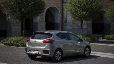 Bluetooth is standard, while 2 models are equipped with rear parking sensors and cruise control